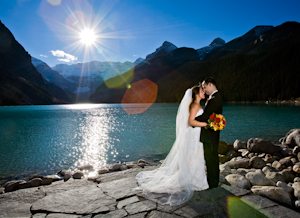Jessica and Mark's Wedding in Lake Louise